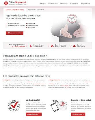 Création site internet Détective privé