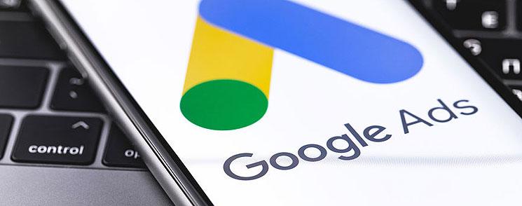 L'interface Google Ads